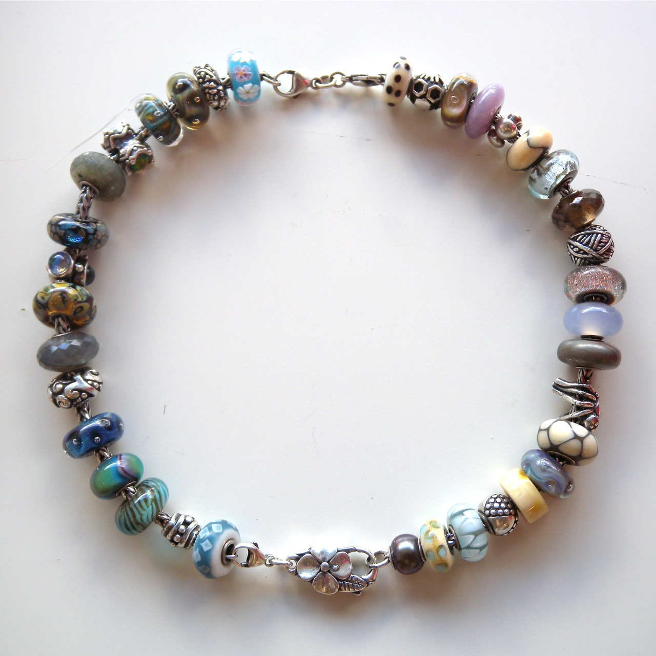 Trollbeads inspiration how do you wear your trollbeads for Words to wear jewelry