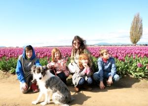 Cathy&kids