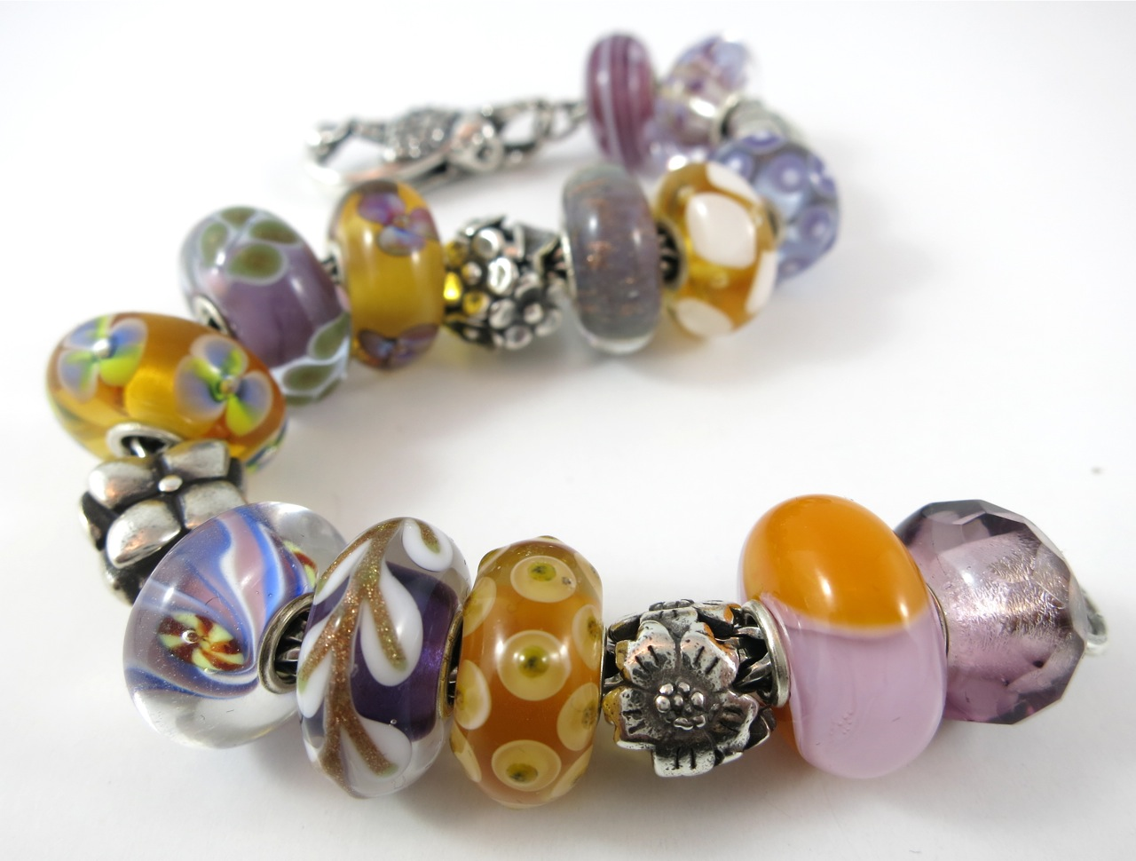 earthly precious bracelet nature in trollbead jewellery aurum treasures norwich shop